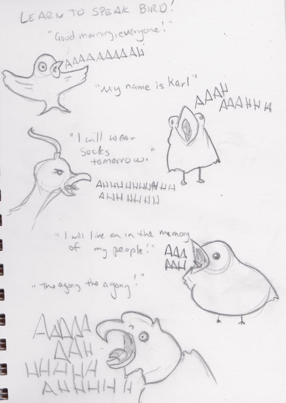 Speaking Bird