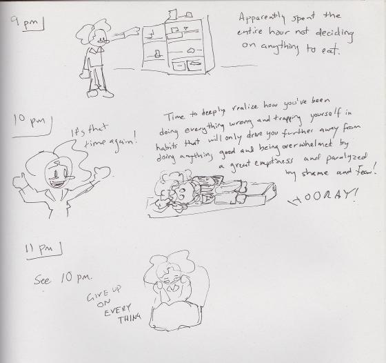 Hourly Comics 2015 8